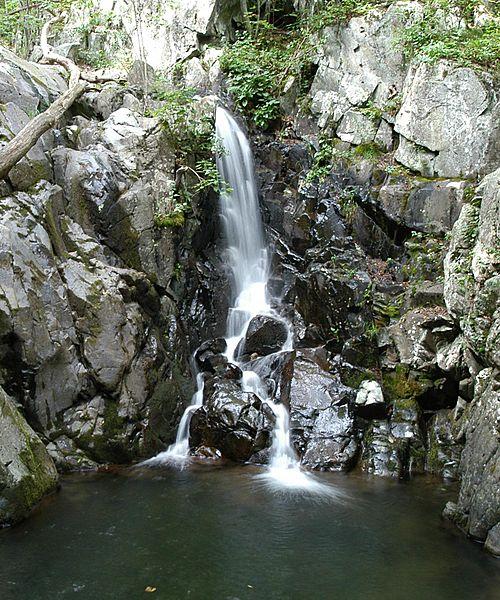 500px Rose river falls Shenandoha Virginia USA