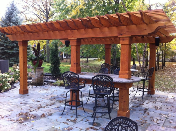 - 6 Reasons To Build A Cedar Pergola