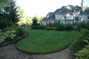 Home Sprinkler System Lawn