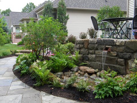 old fairmount stone wall with water feature finished 480 x 360 resized 600