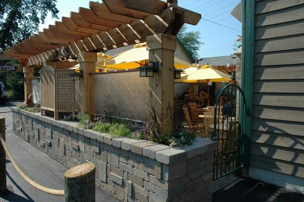 Moosehead Cedar Pergola Garden Structure.