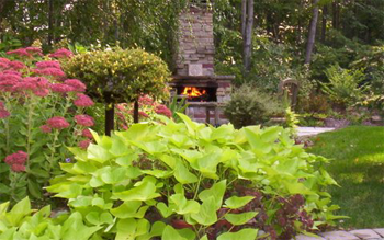 Beautiful Northeast Ohio Spring Fireplace and firepit Flowers