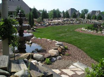 landscape design for large areas