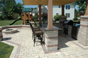 designing an outdoor kitchen