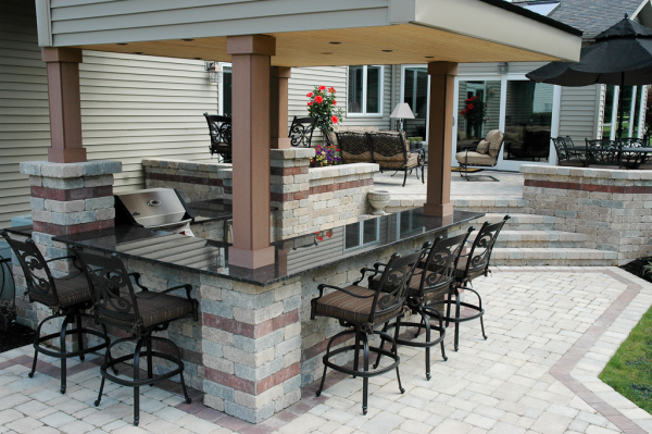 Create the Perfect Outdoor Bar in Half the Time with ...