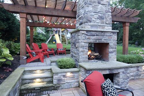 double-sided-outdoor-fireplace